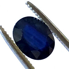 3.4 Ct Loose Oval Blue Sapphire NATURAL GEMSTONE September Birthstone