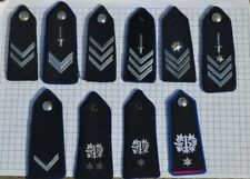 Belgian Municipal Police Rank Insignia