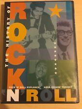 The History of Rock N Roll Little Richard Chuck Berry Mick Jagger 170min DVD