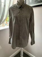 Mens Camel Active shirt pin striped, long sleeved - Used - VGC