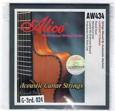 Acoustic Guitar Strings 5 X Single Individual G 3rd String Plain Steel 0.24
