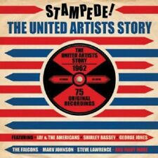 Stampede -United Artists Story 1962 3-CD NEW SEALED Jay & The Americans/Falcons+