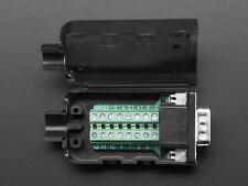 DB-15 Male Plug to Terminal Block Breakout VGA DIY Connector Jack - DE-15