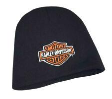 53e81362f98 Harley-Davidson® Men s Bar   Shield Knit Cap Black Embroidered Hat  KNCUS020130