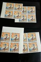 Laos Stamps # 88A Imperforate NH Lot of 16 copies Scott value $240.00