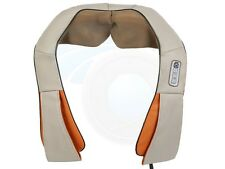 Neck Back Body Shiatsu Dual Motor Massager with Infrared Heat Option