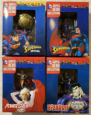 Super Hero Collection DC Eaglemoss Superman Special Bizzaro Power Girl Lot Of 4