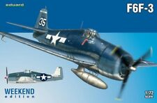 EDUARD MODELS 1/72 F6F3 Fighter (Wkd Edition Plastic Kit)  EDU7441