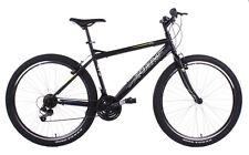 """Bicicletta Mountain Bike MTB Uomo 27,5"""" 21V In Acciaio Mario Schiano Nera"""