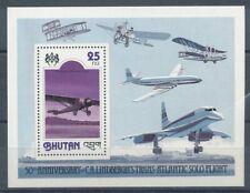 301067) Bhutan Block 81A** Flugzeuge