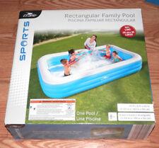 "New Crane Sports Rectangular Family Pool 10Ft. X 6 Ft. X 22"" Deep"
