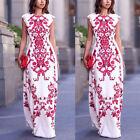 Women Ladies Maxi BOHO Summer Long Evening Party Dress Beach Dress Sundress HOT