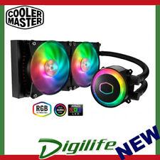 Cooler Master MasterLiquid ML240R Addressable RGB CPU Cooler; 2x120 RGB fans