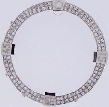 2 Row Diamond Bezel 1.90 Carat for Breitling Super Avenger 2 Watch A13371 Video