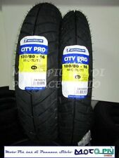 COPPIA GOMME SCOOTER 100/80/16 + 120/80/16 MICHELIN CITY PRO PER HONDA SH KYMCO