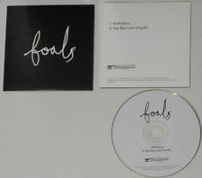 Foals - Mathletics/Big Big Love (Fig #1) - 2007 UK Promo In Picture Cover Sleeve