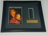 Movie Kiss of the Dragon Original Film Cell Memorabilia Wall Plaque w/ COA