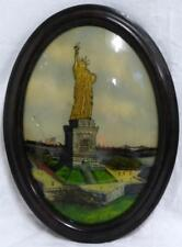 STATUE OF LIBERTY REVERSE GLASS PAINTING Lot 52