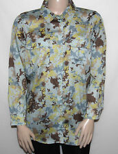 NEW K-DASH by Kardashian Plus 1X Printed Oversize Button Front Shirt COMBO