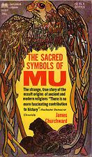 James Churchward THE SACRED SYMBOLS OF MU pb 1968 Ancient World Vintage-Good
