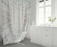 Mushroom Shower curtain trippy bath mat beige shower curtain psychadelic