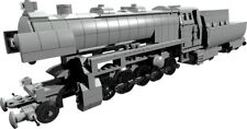 building INSTRUCTION only - BR52 steam engine train - built from LEGO® parts