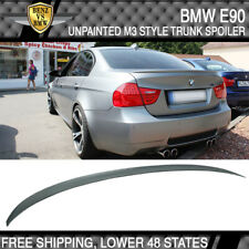 06-11 BMW E90 3-Series 4Dr 330 335 328 M3-Type Trunk Spoiler Unpainted ABS