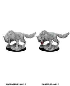 figurine HD mini wizkids JDR D&D pathfinder W11 Winter Wolf