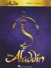 Disney's Aladdin Easy Piano Musical Sheet Music Book Prince Ali Arabian Nights