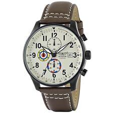 I piloti Aviatore Uomo Vintage Marrone Cronografo AVW2044G292