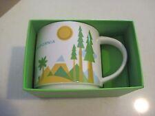 Starbucks 2014 California  You Are Here Collection Coffee Mug 14 oz NEW MIB