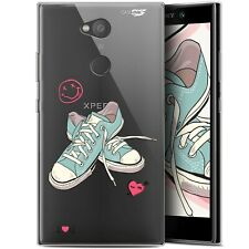 "Coque Gel Sony Xperia L2 (5.5"") Extra Fine - Mes Sneakers d'Amour"