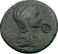 ORBIANA 225AD Side Pamphylia Tyche River-God Melos Ancient Roman Coin i59770