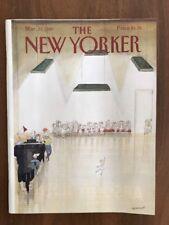 1987 March 23 The New Yorker Magazine Ballet School Practice Sempe