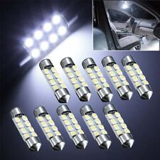 10x C5W 8 LED 36mm Xenon Light Bulb White Car Festoon Interior Dome Number Plate