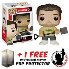 FUNKO POP SHAUN OF THE DEAD ED VINYL FIGURE + FREE POP PROTECTOR