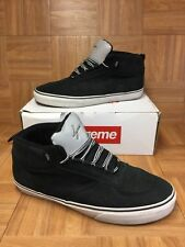 RARE🔥 VANS x Supreme x MC Mike Carroll Black Nubuck Reflective 3M Tongue Sz 13