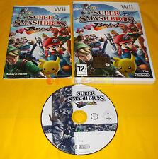 SUPER SMASH BROS BRAWL Nintendo Wii Versione Italiana 1ª Edizione ○○○ USATO - AI