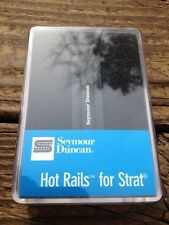 Seymour Duncan SHR-1 Hot Rails Strat NECK Electric Guitar Pickup Black Humbucker