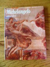 Michelangelo Career and Greatest Works Illustrated HC DJ Jeffery Daniels 1990