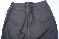 ZERRES 5775 Damen stretch Hose Jeans Gr.42 normal dunkelgrau dünn TOP #99