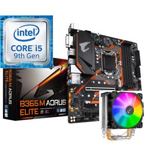 i5-9400F Gigabyte B365M Aorus Elite 1151 CPU Motherboard Combo Jonsbo RGB Cooler