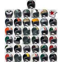 Davida Speedster Open Face Motorcycle Helmet Two Tone | All Colours & Sizes