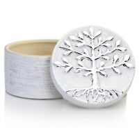 Tree of Life Decorative Jewellery Trinket Box Silver Finish Vintage Gift Idea