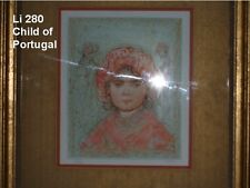 Child of Portugal  Lithograph  by Edna Hibel