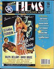 Films of the Golden Age movie magazine Deanna Durbin Hayley Mills Gail Patrick