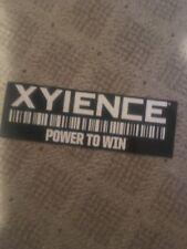 Xyience Energy Drink Bumper Sticker