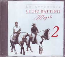 LE AVVENTURE DI LUCIO BATTISTI E MOGOL 2 (2006) CD ORIGINALE USATO