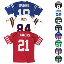 Nfl Mitchell & Ness Men's Legacy Home & Away Throwback retrô Jersey Collection