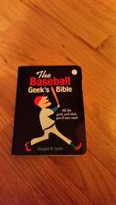 baseball geeks bible